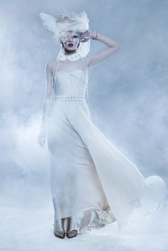 Fashion: The ice maiden stunneth Snow Queen, Ice Queen, Ice Princess, Hair Shows, Gothic Art, Amazing Art, Witch, Fantasy, Mail Online