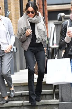 Meghan Markle Just Stepped Out in London for a Shopping Trip—Has She Moved In with Prince Harry? | The Suits star did a bit of shopping in the English capital on Wednesday.