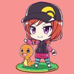 Maki and Charmander <3