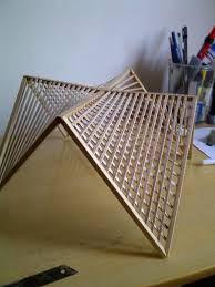 Resultado de imagen para maquetas abstractas con madera balsa