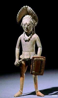 Jaina warrior Ancient Maya (Jaina, Mexico), n.d.