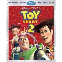 Toy Story 2 (Four-Disc Combo: Blu-ray 3D/Blu-ray/DVD   Digital Copy) --- http://www.pinterest.com.tocool.in/hc