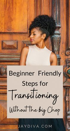 How To Transition To Natural Hair Without The Big Chop Are you new to transitioning to natural hair. And probably looking for tips to guide you? Then this post is right for you. Here you will find transitioning tips and how to transition to natural hairwithout thenig chop or cutting your hair, these beginner tips for transitioning to natural hair are easy to follow. #transitioninghair #transitioning #naturalhair #naturalhairgrowth #hairgrowthtips #naturalhaircare #naturalhairproducts