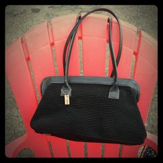 The sac black purse! Unique! Not many sold! Black medium size purse. The Sak Bags Shoulder Bags