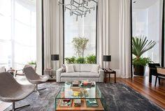 Imponência frente ao verde do Ibirapuera - Casa Vogue | Interiores