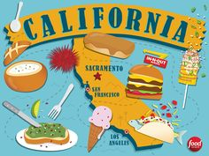 California Cravings : California is home to a wealth of culinary traditions, thanks to the Golden State's sunny climate, ocean access, diverse population and agricultural prowess. It may be impossible to try every edible wonder the state has to offer, but here's a list of must-try dishes to get you started.