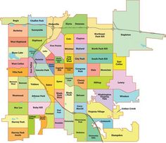 Map Of Colorado Counties