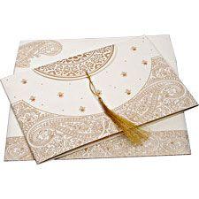 I-8234B   Islamic Wedding Invitations   123WeddingCards.com I love the design!