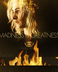 Viserys Targaryen - game-of-thrones Fan Art || King Jaehaerys once told me that madness and greatness are two sides of the same coin. Every time a new Targaryen is born, he said, the gods toss the coin in the air and the world holds its breath to see how it will land.