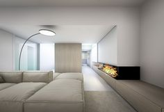 Online shopping from a great selection at Home Store. Arch Interior, Room Interior, Interior Architecture, Modern Fireplace, Fireplace Design, Minimalist Interior, Modern Interior Design, Interior Minimalista, Dream Rooms