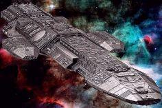 GalacticaBBS: CGI Battlestars of
