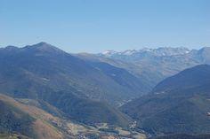 Vallée d' #Aure, pics espagnols vus depuis le col d' #Aspin, Hautes-Pyrénées #pyrenees