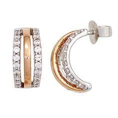 Damen-Halbcreole 40 Diamant-Brillanten 14 Karat (585) Rotgold 0.50 ct. Dreambase http://www.amazon.de/dp/B00N5C5LVI/ref=cm_sw_r_pi_dp_zcEaub143QRPM