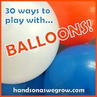balloon painting, balloon power, balloon shakers...