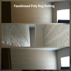 Poly Rag Rolling..light shows different texture/sheen based on direction of light by Fauxkissed