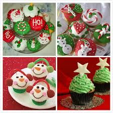 christmas cupcakes decorations - Google Search