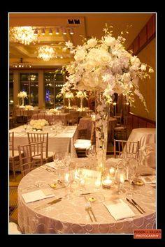 Boston Wedding Photography, Boston Event Photography, Wedding Centerpieces, Floral Centerpieces, White Wedding Centerpieces