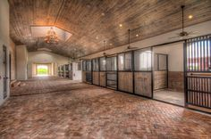Sunset West Farm is a spectacular equestrian facility that features a twenty-six stall stable, three bedroom staff apartment, six paddocks, an all weather ring and a five-horse walker. A gated driveway entrance welcomes you to the property with ample parking space. The twenty-six stall stable, finished with the finest building materials, includes two tack rooms, two feed rooms, two laundry rooms, four grooming/wash stalls, a lounge with private full bath, office and powder bath. The stalls…