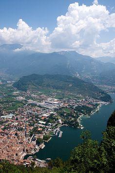 Visited in 2014 - Riva del Garda, Lake Garda, Italy Lake Garda Italy, Riva Del Garda, Italian Lakes, Southern Europe, Innsbruck, Largest Countries, Visit Italy, Lake Como, Great Lakes