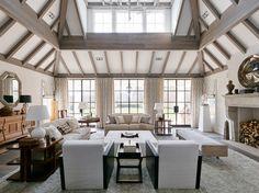"490 Hedges Ln, Sagaponack, NY 11962 | 11,000 sf | 7 bed | 8 full 1 half bath | ""Boxwoods"" built 2016 | 2.25 acres | interiors by James Michael Howard (JMH) | $18,995,000."