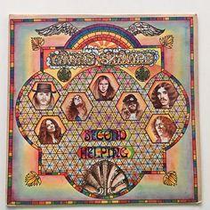 Lynyrd Skynyrd - Second Helping LP Vinyl Record Album, MCA Records - MCA-413, 1974, Original Pressing