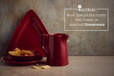 Diwali Special!! Hurry up, Avail special discount this Diwali on selected ceramic dinnerware. Shop the collection now at https://www.neerja.com/category/festival-special/diwali
