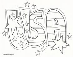 33 Best Patriotic Coloring Sheets images | Coloring book, Coloring ...