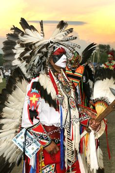 At Samson Powwow 2013-  this photograph looks like an amazing painting!