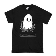 the sad ghost club t shirt is Made To Order, one by one printed so we can control the quality.We use newest DTG Technology to print on to T-Shirt. Direct To Garment Printer, Shirt Style, Screen Printing, Size Chart, Digital Prints, Sad, Club, Mens Tops, T Shirt