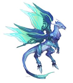 Turquoise dragon- specifically  know for their great talent at building hidden structures.Their back claws help when digging,and their front claws for placing things and moving them.These creatures are also very strong.
