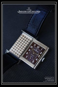 The Watch Gallery & Jaeger-LeCoultre Reverso Night & Day Watch Campaign Editorial.  Creative Art Direction by @Fashitect