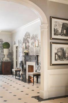 Elegant Home Decor, Elegant Homes, Archways In Homes, Neoclassical Interior Design, Decor Interior Design, Interior Decorating, Federal Style House, Unique House Design, Classic Interior