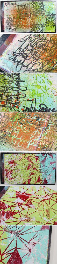 new stencils from Balzer Designs