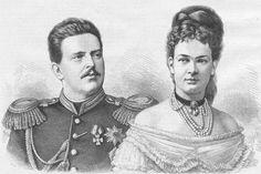 Grand Duke Vladimir and Grand Duchess Maria