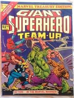 SUPER HERO TEAM-UP MARVEL HULK SPIDER-MAN THOR CAPTAIN AMERICA DAREDEVIL THING