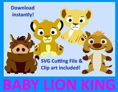 Bebé de bebé León rey SVG, rey de León bebé Clip art, ducha de bebé del Rey León, Simba, Nala de bebé, bebé Timon y pumba, Digital Clip Art, PNG, SVG de 5MonkeysClipart en Etsy https://www.etsy.com/es/listing/265123675/bebe-de-bebe-leon-rey-svg-rey-de-leon