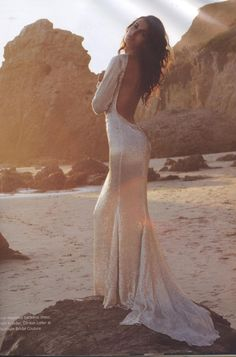 sequin-backless-dress-beach-wedding-dresses