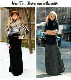 how to wear a maxi in the winter, tips on how to wear a maxi in cooler weather by Pamela Fitzgerald