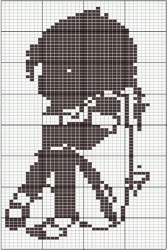 pixel haken jip en janneke - Google zoeken Pixel Crochet, Tapestry Crochet, Crochet Chart, Knit Or Crochet, Cross Stitch Needles, Cross Stitch Patterns, Stitch Cartoon, Cross Stitch For Kids, Double Knitting