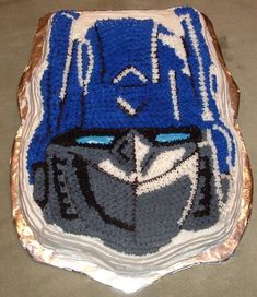 Transformers Cake Pictures - How To Make A Transformers Birthday Cake