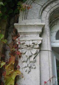 ⌖ Architectural Adornments ⌖  ornate building details - door surround