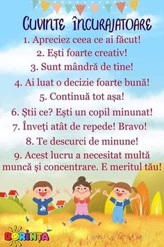 Romanian Language, Phonetic Alphabet, Kids Poems, Positive Discipline, School Lessons, Baby Needs, Kids Education, Preschool Activities, Kids And Parenting