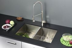 Truth be told, using the kitchen sinks is inevitable in your daily activities. Choosing a perfect kitchen sink is an important thing one can do to achieve