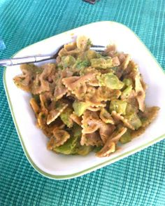 Broccoli and tuna bow-tie pasta with The Laughing Cow Light Creamy Swiss