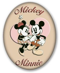 Mickey Mouse & Minnie Mouse Clipart