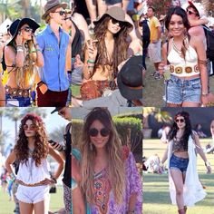 Vanessa Hudgens, Coachella through the years