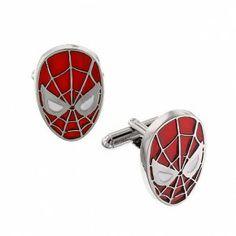 Spiderman Head Cuff Links | 13617 | 1928 cufflinks