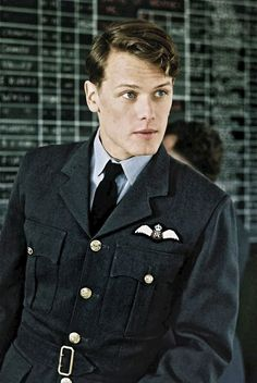 Sam as 'Boy' Geoffrey Wellum in BBC show First Light - Battle of Britain - In pictures: Hunky photos of Scottish Outlander star Sam Heughan - Scotland Now - click to see a lot more photos