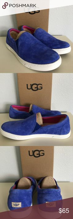 UGG Azul Kitlyn Slip On Shoes Model: 1015042 This classic suede slip-on will take you straight from spring to fall.   Water-resistant suede EVA and foam insole Rubber outsole UGG Shoes Sneakers