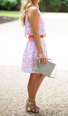 6cdf1d438b089 Via @stylecusp in the Lilly Pulitzer Selina Set Summer Shorts, Summer  Outfits, Cute